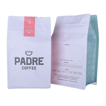 Kraft Paper Aluminum Foil Coffee Beans Packaging Bags