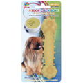 "Percell 4.5"" Nylon Dog Chew Bone Corn Chowder Scent"
