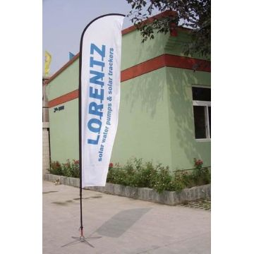 Customized for Feather Banner Flags Custom Knife Feather Flag for Event Advertising export to South Korea Manufacturers