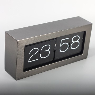 Big Brick Metal Flipping Clocks