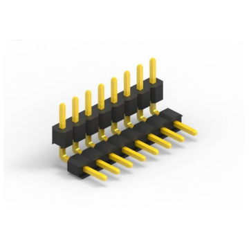 1.27mm Pitch Single Row Double Plastic H1.7/2.5