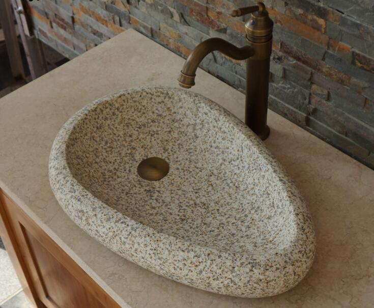 bathroom sink stone
