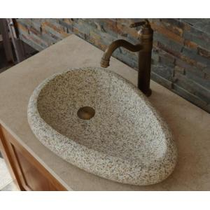 Gold Ma granite stone basin