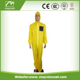 Yellow Soft Touching Rain Suit