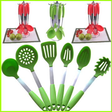 Bottom price for Kitchen Tools And Utensils Heat resistant Silicone kitchen cooking tool supply to Turks and Caicos Islands Exporter
