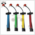 colorful plastic mini F/V A/V bike pump