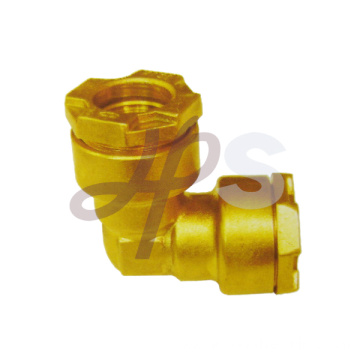 Brass pe ppr elbow fitting