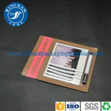 Fast Delivery for Kraft Paper Heat Seal Packaging Custom Hot Sealed Blister supply to South Africa Supplier