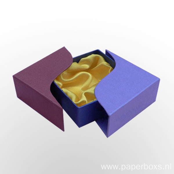 Cardboard Unique Shape Gift Box for Bracelet Box