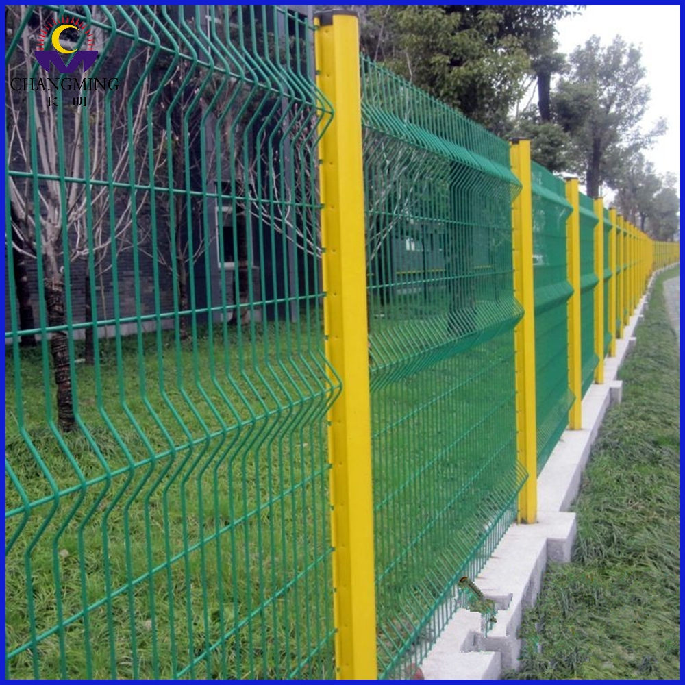3D Polyester Curvy Welded Mesh Panel