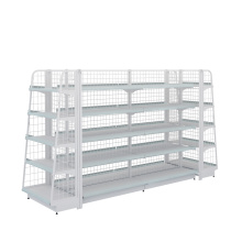 Factory Free sample for Metal Gondola Shelving Wholesale Retail And Supermarket Display Rack export to Bouvet Island Wholesale