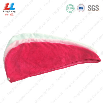 Charming attractive hair dry headband towel