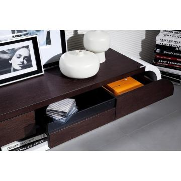 Modern Two-Tone TV Entertainment Unit
