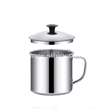 Double Wall Stainless Steel Cup With Lid