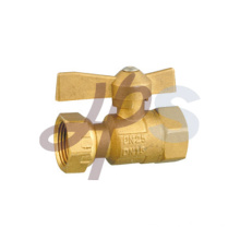 Brass water meter ball valves for HDPE pipe