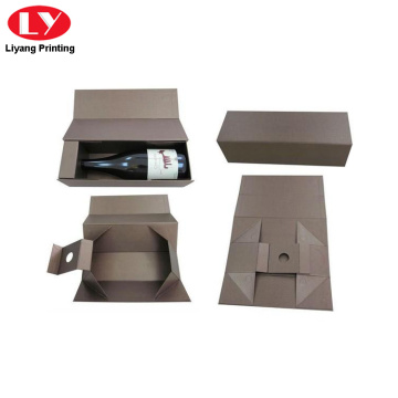 foldable paper wine box for wine packaging