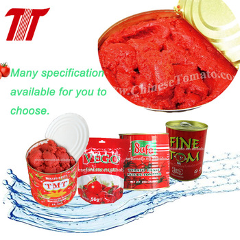 Tomato Paste with 400g*24tin/ctn size