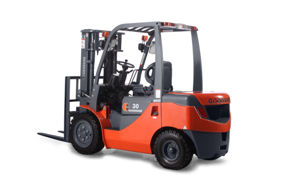 Diesel Forklift with Wide View Mast