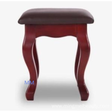Morden beauty salon wooden chair stool