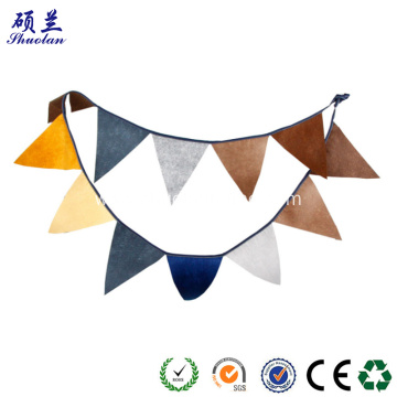 High quality customized design felt banner flag