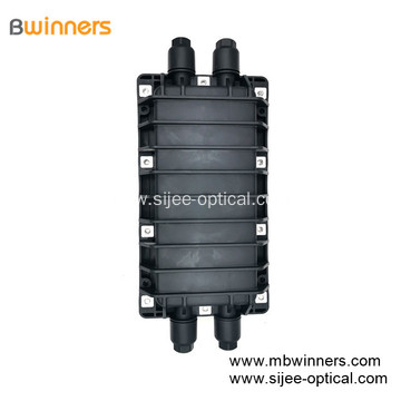 New type Fiber Optic Splice Joint Closure with 2 inlets/outlets