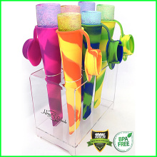 On Sale Silicone Popsicle Molds with Lid