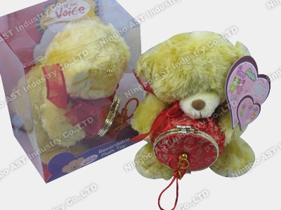 Promotional Teddy Bear, Music Stuffed Toy, Music Plush Toy