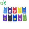 Customized Logo Printing Silicone Mobile Phone Case Wallet