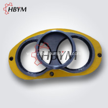 Durable Concrete Pump Wear Plate and Cutting Ring