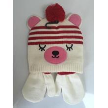 Free sample for Knitting Beanie Animal Jacquard  Knitting Beanie supply to Guatemala Manufacturer