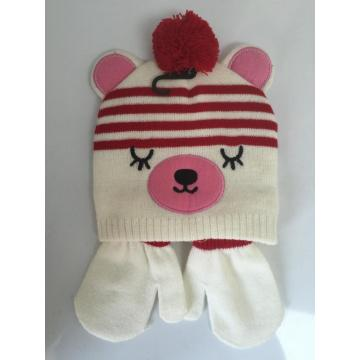 Animal Jacquard  Knitting Beanie