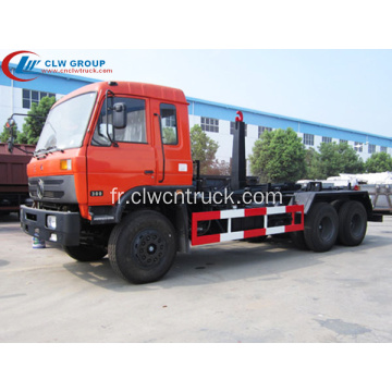DONGFENG économique 15cbm roll on roll off camion poubelle