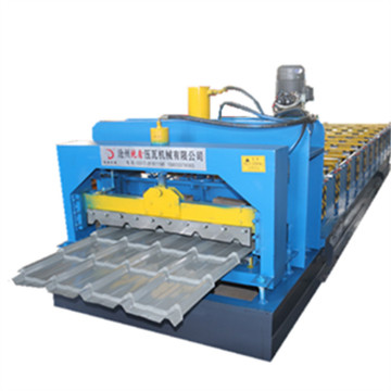 Machine Glazed Tile Roll Forming Machine
