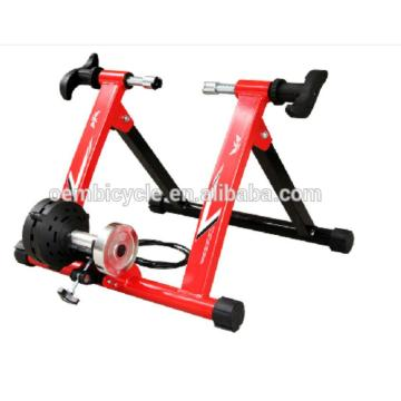 Indoor exercise bike trainer stand