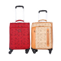 customized four wheels aluminum pulling bar luggage
