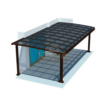 Polycarbonate Solid Roofing Parking Shelter Carport