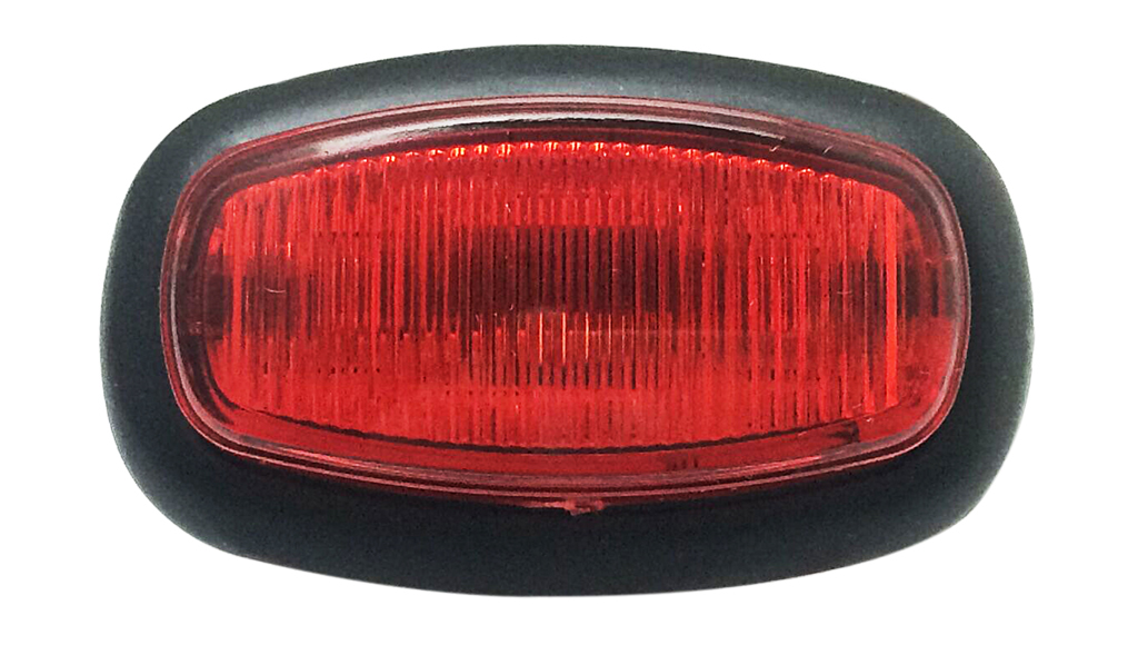 Red Rear Position Lighting With DOT
