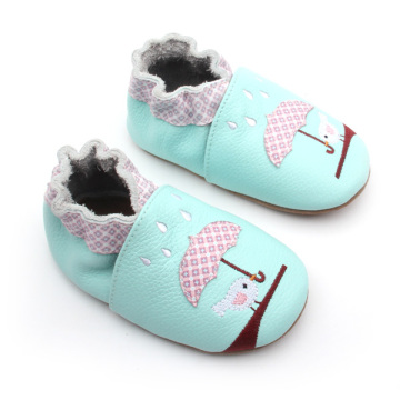 Customized Patter Baby Soft Leather Shoes Wholesale