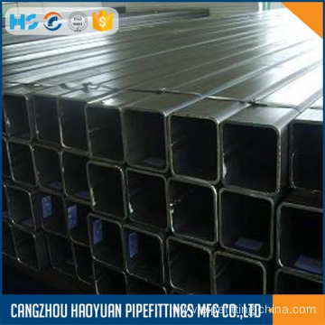 Hot Galvanized Square Steel Pipe 60 X60 sch40