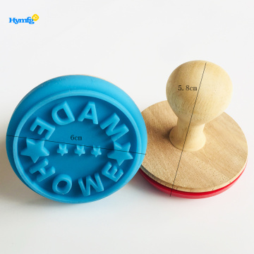 With made love letter Cookie Stamps