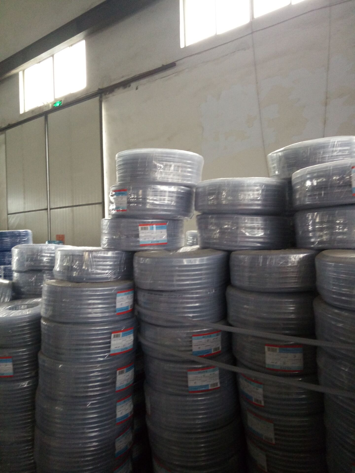 fiber braided pvc hose