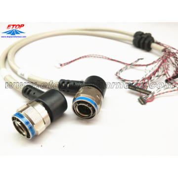 High Quality for waterproof wire harness overmolded Amphenol connectors assembling export to Spain Importers