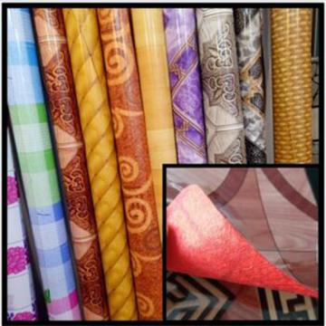 Colorful PVC Vinyl Plastic Cheap Linoleum Flooring Rolls