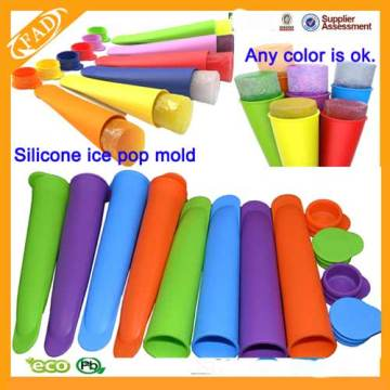 Factory Supplier for Ice Cream Pop Mould Set of 4 Premium Silicone Popsicle Molds export to Marshall Islands Factory
