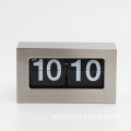 Metal Box Flip Down Clock