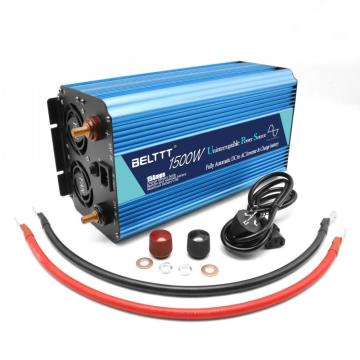 1500W Power Inverter for Uninterrupted Power Supply