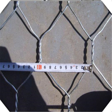 PVC coated and hot dip galvanized gabion basket
