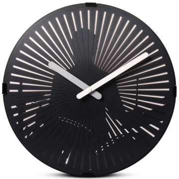 Motion Wall Clock- Beating the Drum Set