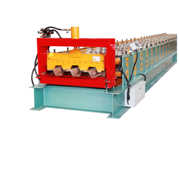 Metal Steel Floor Deck Roll Forming Machine