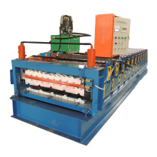 customized automatic double layer roll forming machine